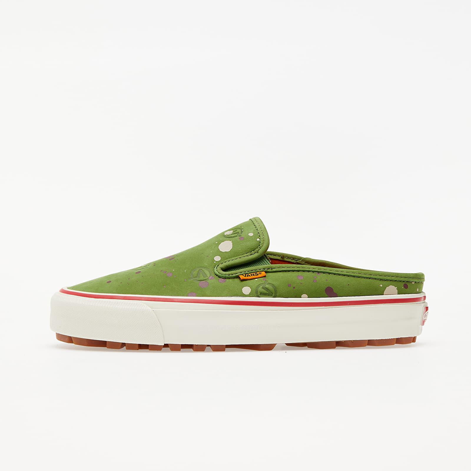 Vans OG Mule LX (LQQK Studio) Circle V Split Green VN0A5FC22T11