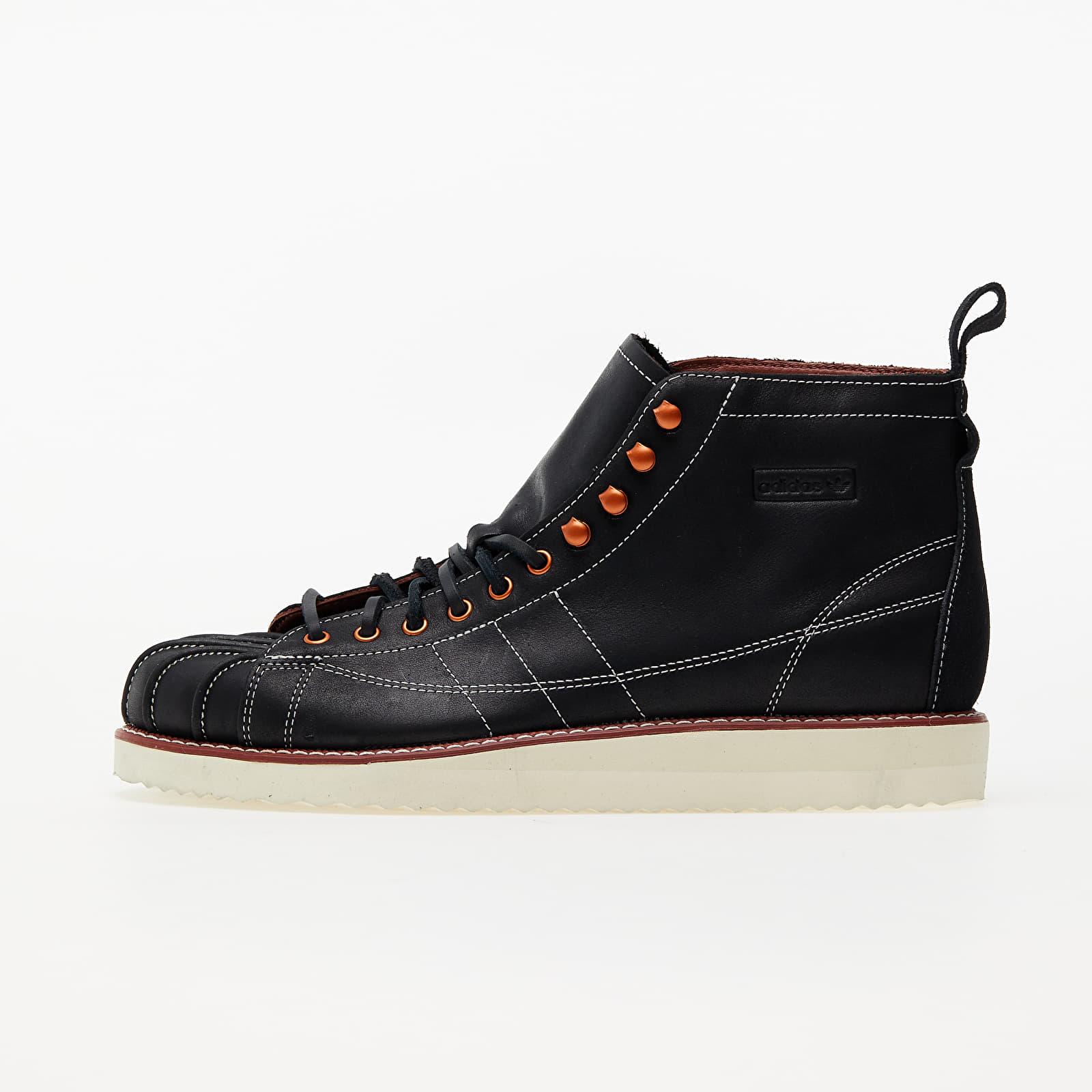 adidas Superstar Boot Core Black/ Off White/ Wild Sepia FZ2641