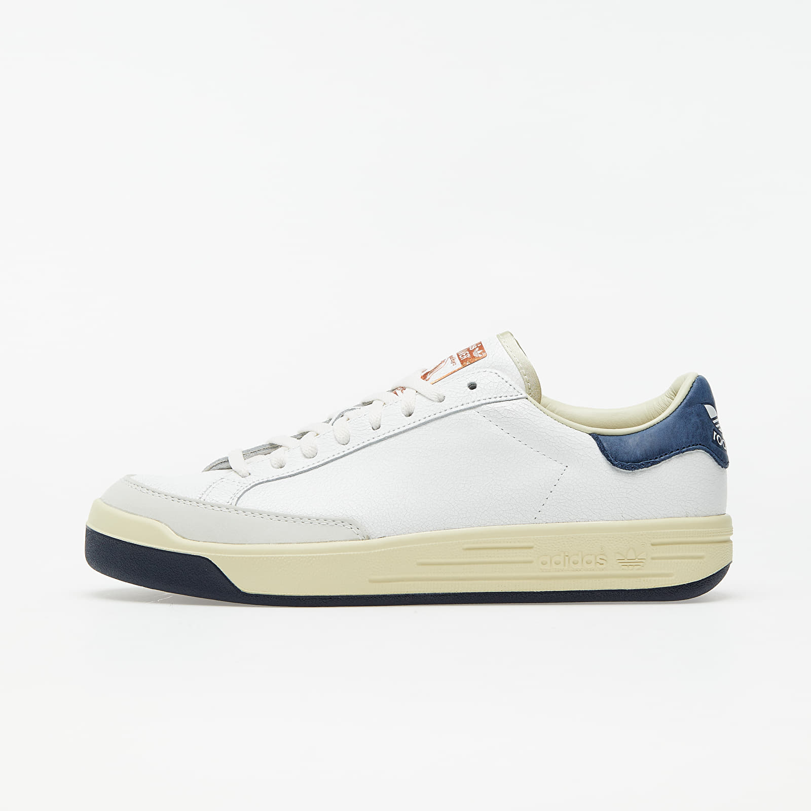 adidas Consortium Rod Laver Cracked Core White/ Core White/ Collegiate Navy FY4494