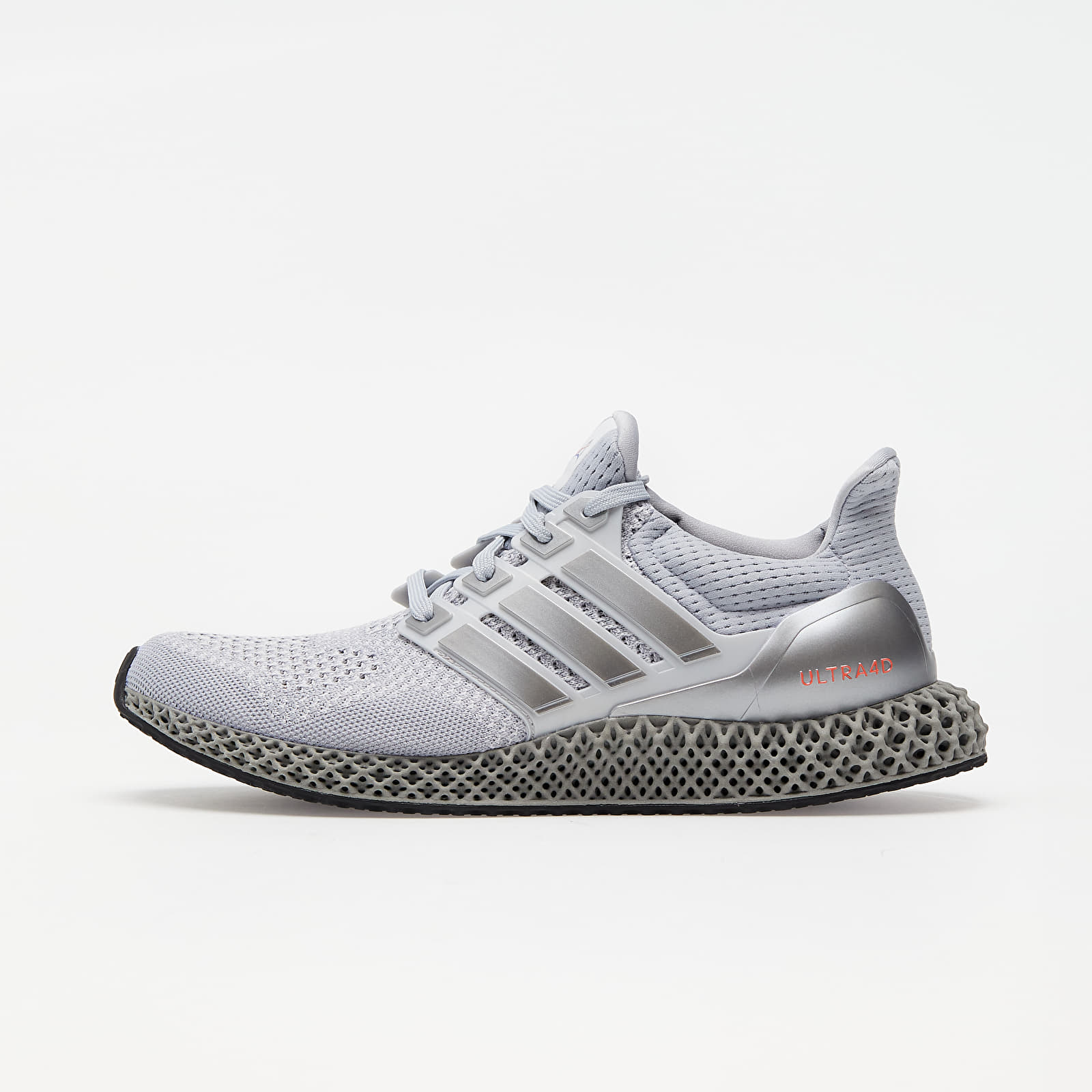 adidas Ultra4D Halo Silver/ Silver Met./ Solar Red FX7753