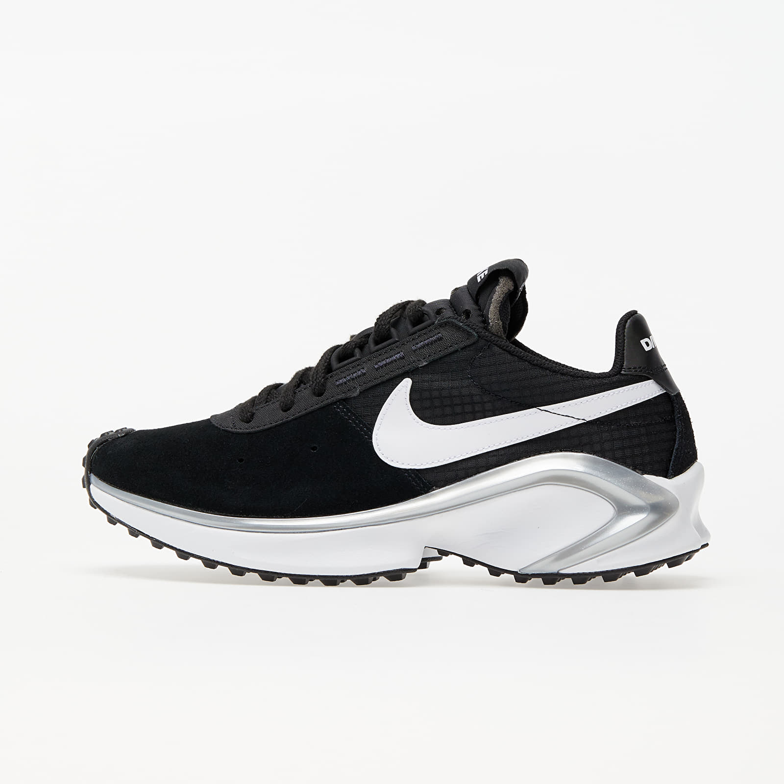 Nike D/MS/X Waffle Black/ White-Metallic Silver-White CQ0205-001