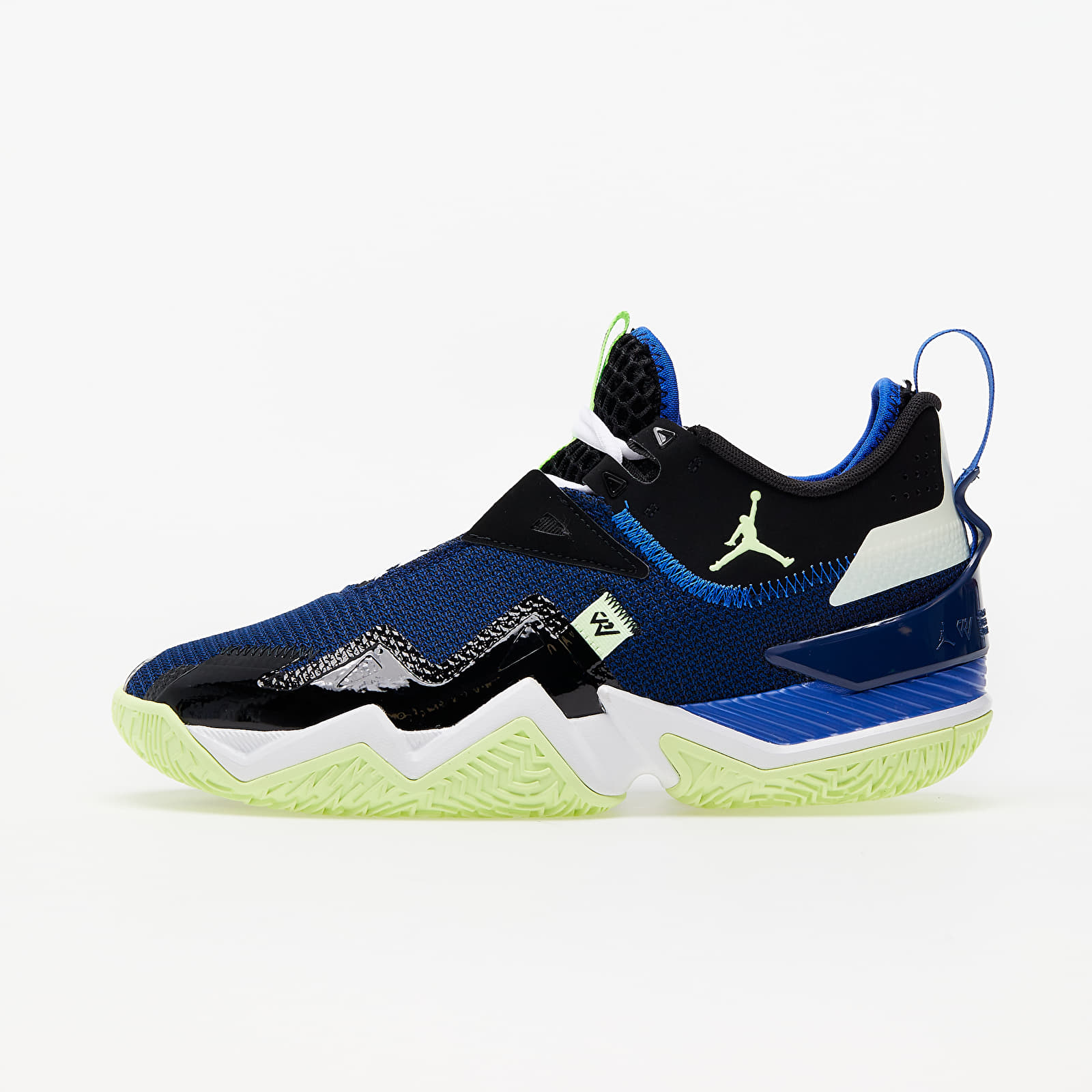 Jordan Westbrook One Take Black/ Barely Volt-Hyper Royal-Blue Void CJ0780-004