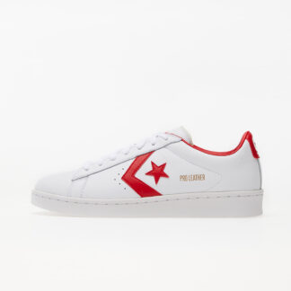 Converse Pro Leather Gold Standard White/ University Red 167970C