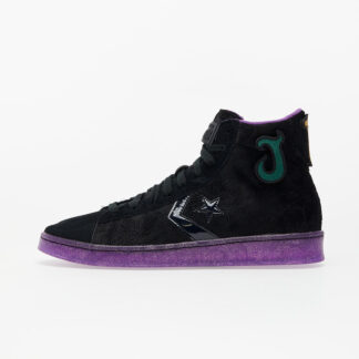 Converse x Joe Fresh Goods Pro Leather Black/ Black/ Amaranth Purple 170645C