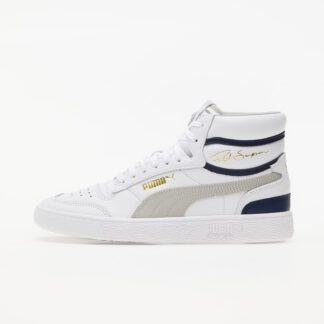Puma Ralph Sampson Mid Puma White-Gray Violet-Peacoat 37084704