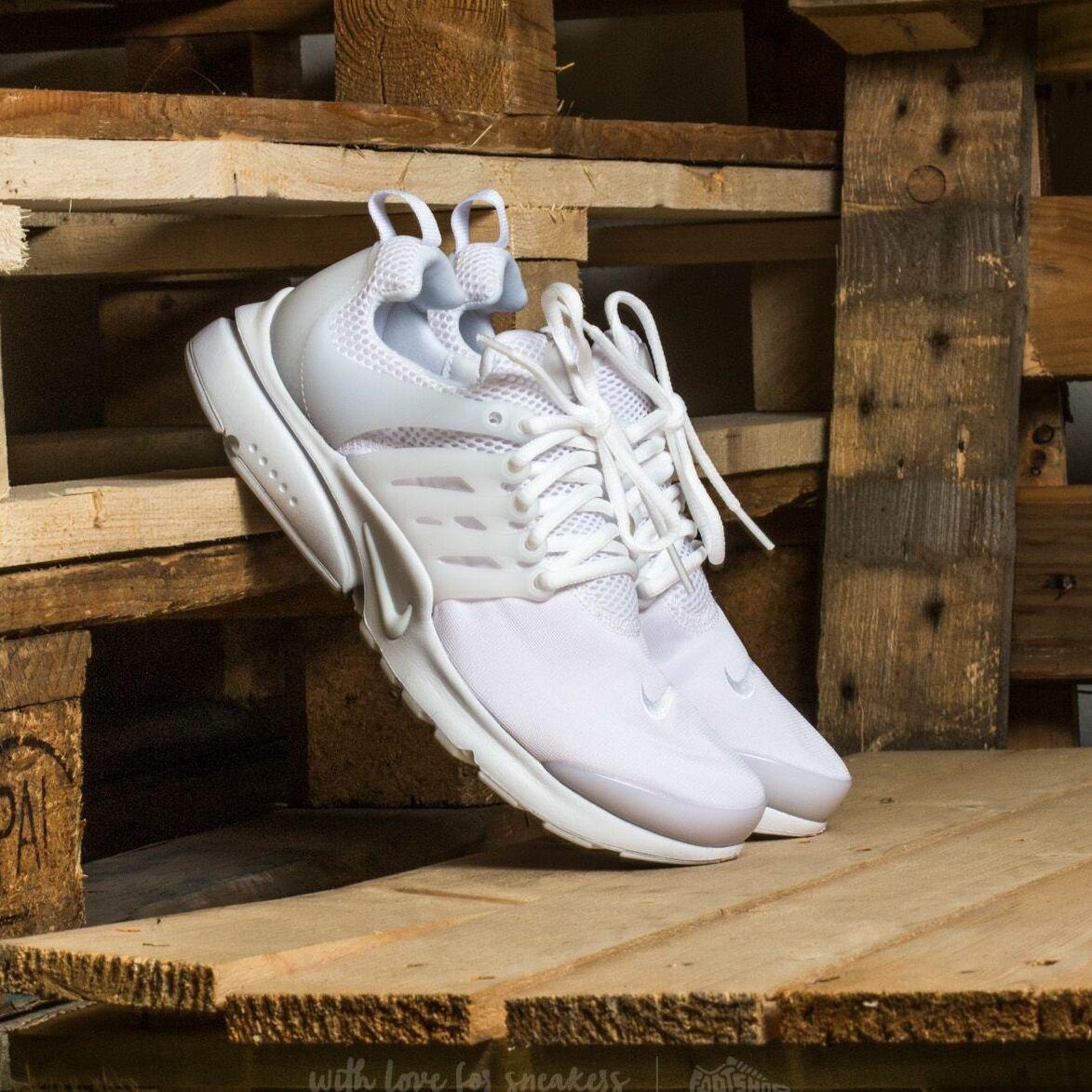 Nike Presto (GS) White/ White-White 833875-100