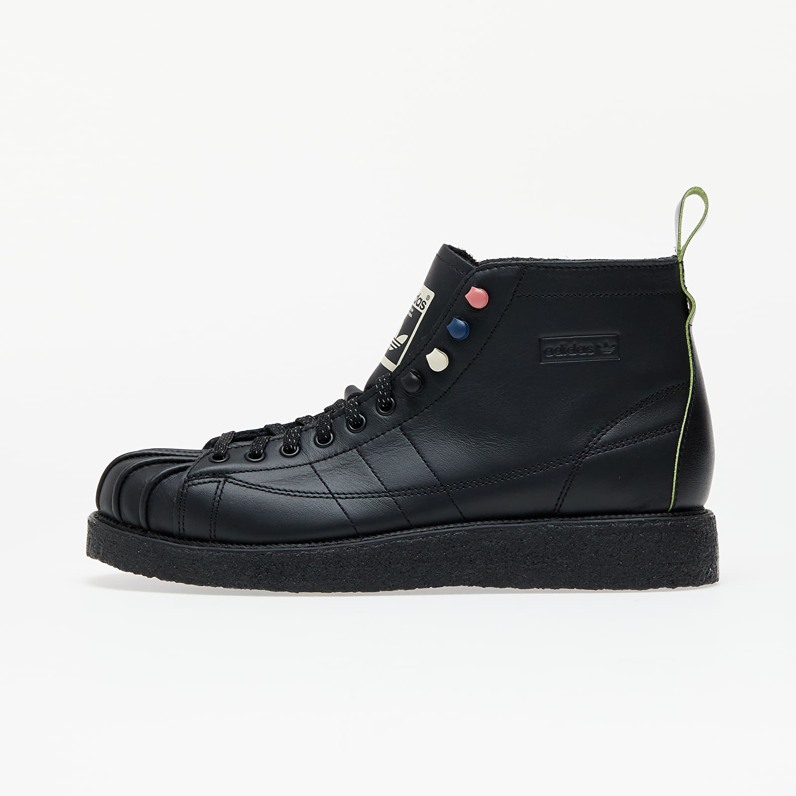 adidas Superstar Boot Luxe W Core Black/ Core Black/ Solar Green FY6994
