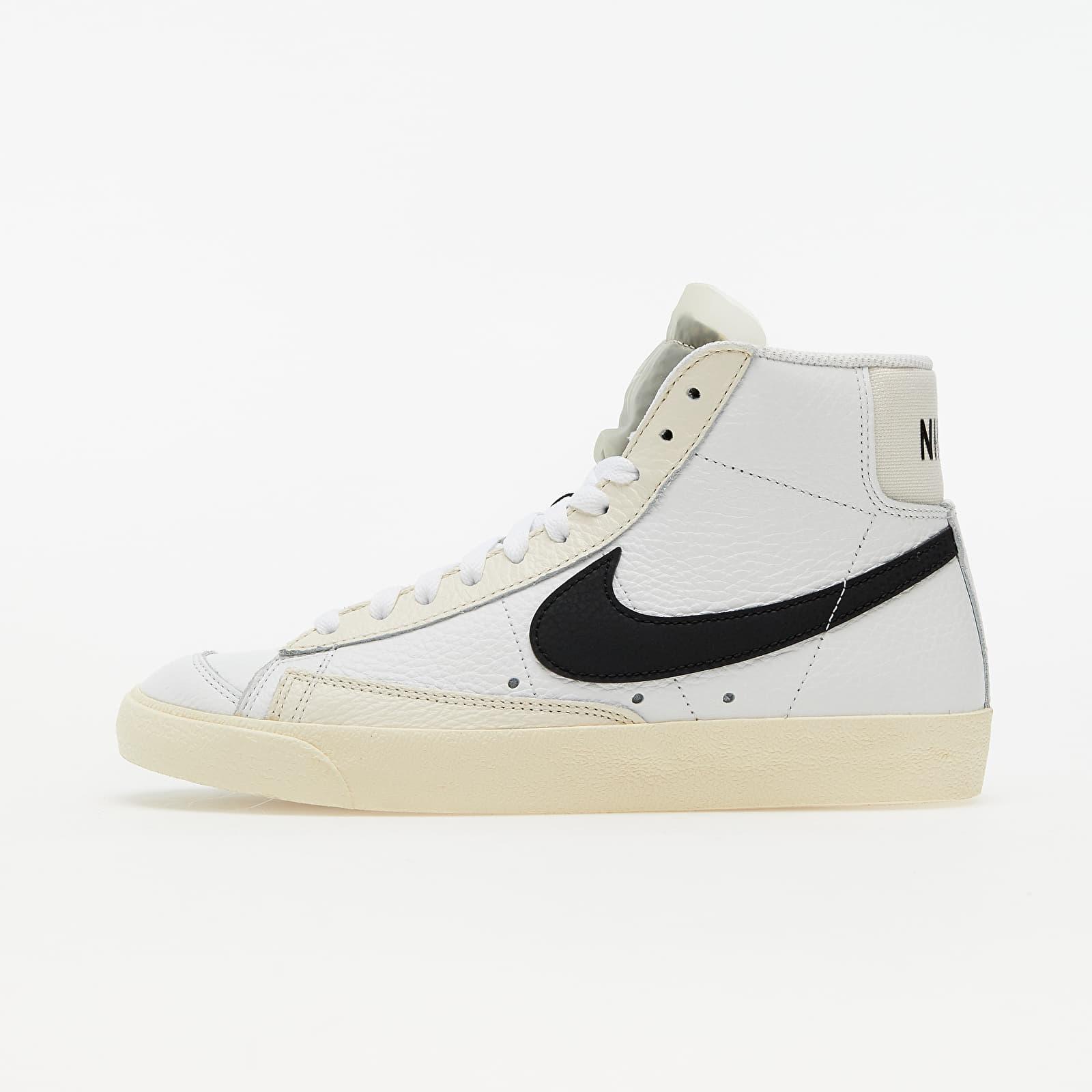 Nike Blazer Mid '77 Summit White/ Black-Pale Ivory-Beach DD6621-100