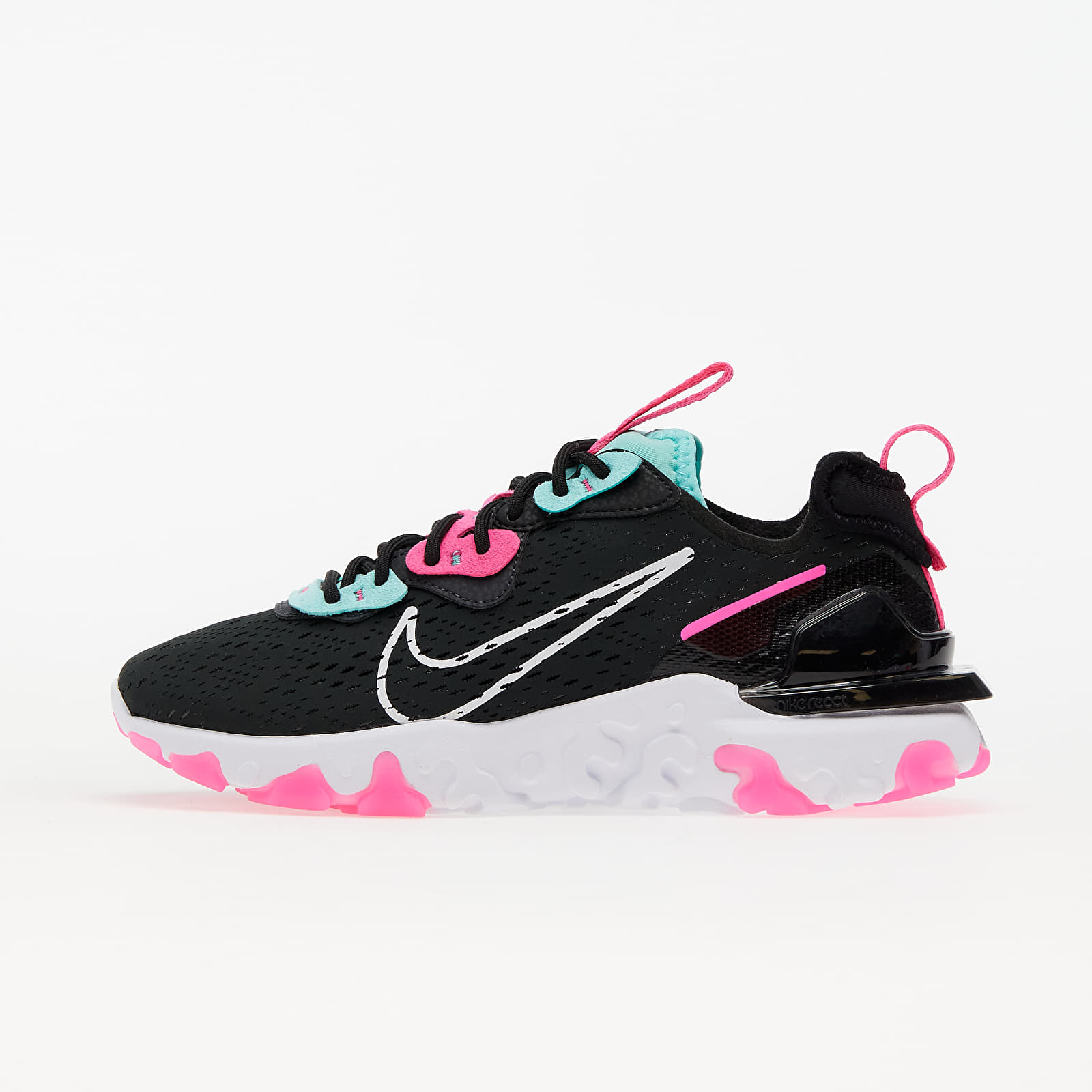 Nike W NSW React Vision Dk Smoke Grey/ White-Pink Blast CI7523-008