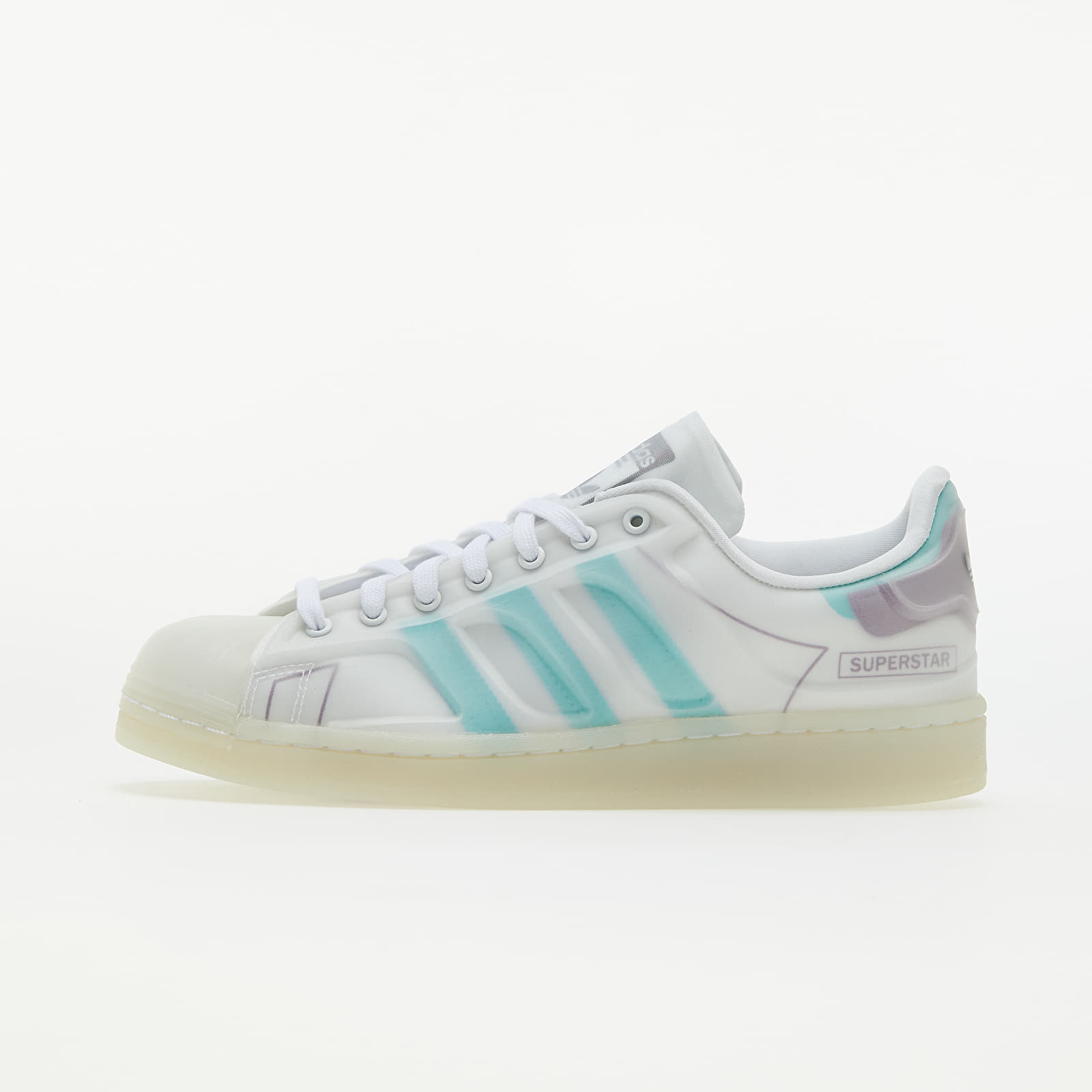 adidas Superstar Futureshell Ftw White/ Active Mint/ Rich Mauve FY7356