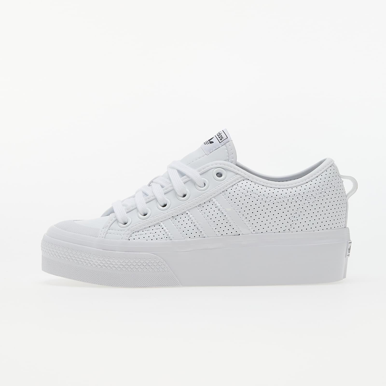 adidas Nizza Platform W Ftw White/ Ftw White/ Core Black FX9180