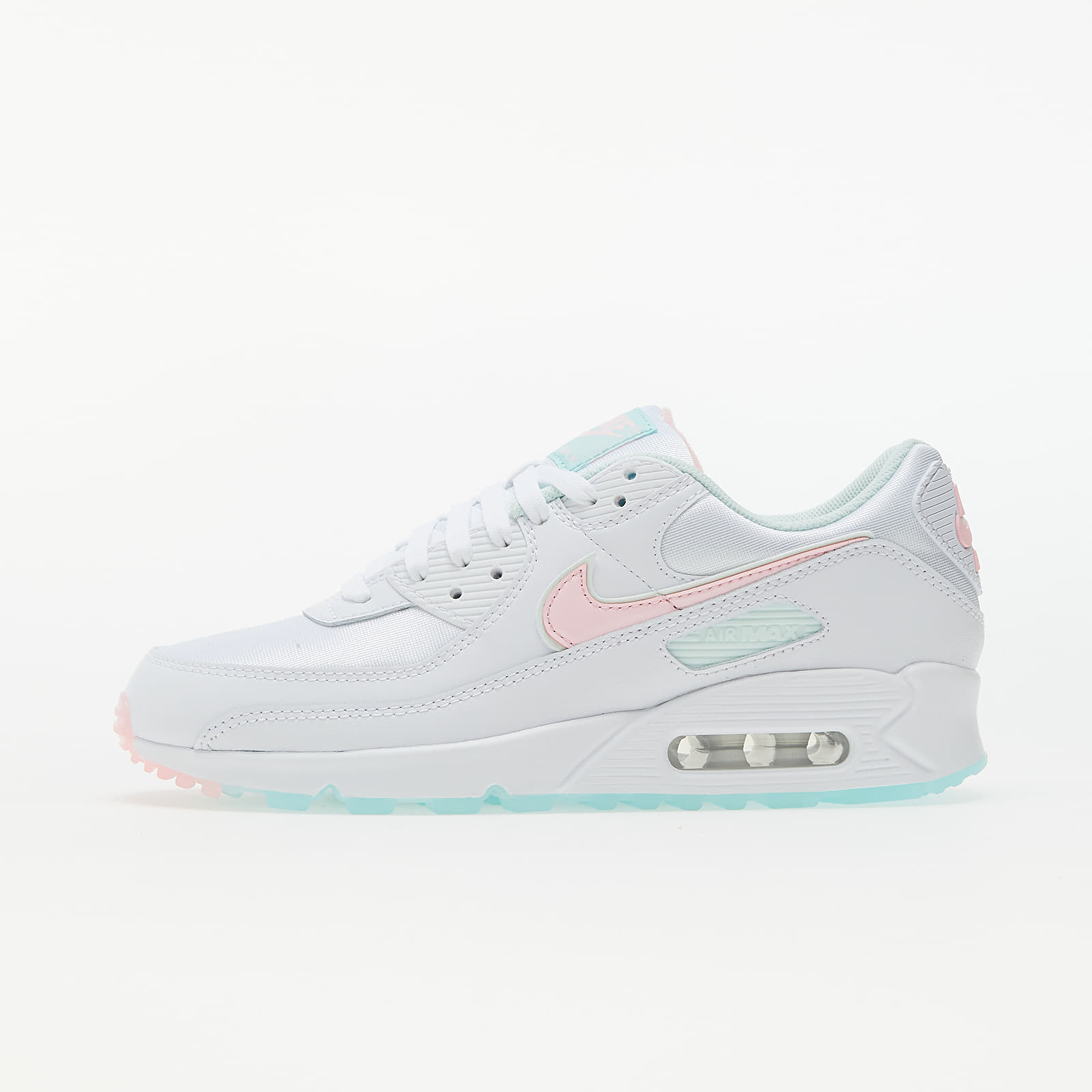 Nike W Air Max 90 White/ Arctic Punch-Barely Green DJ1493-100