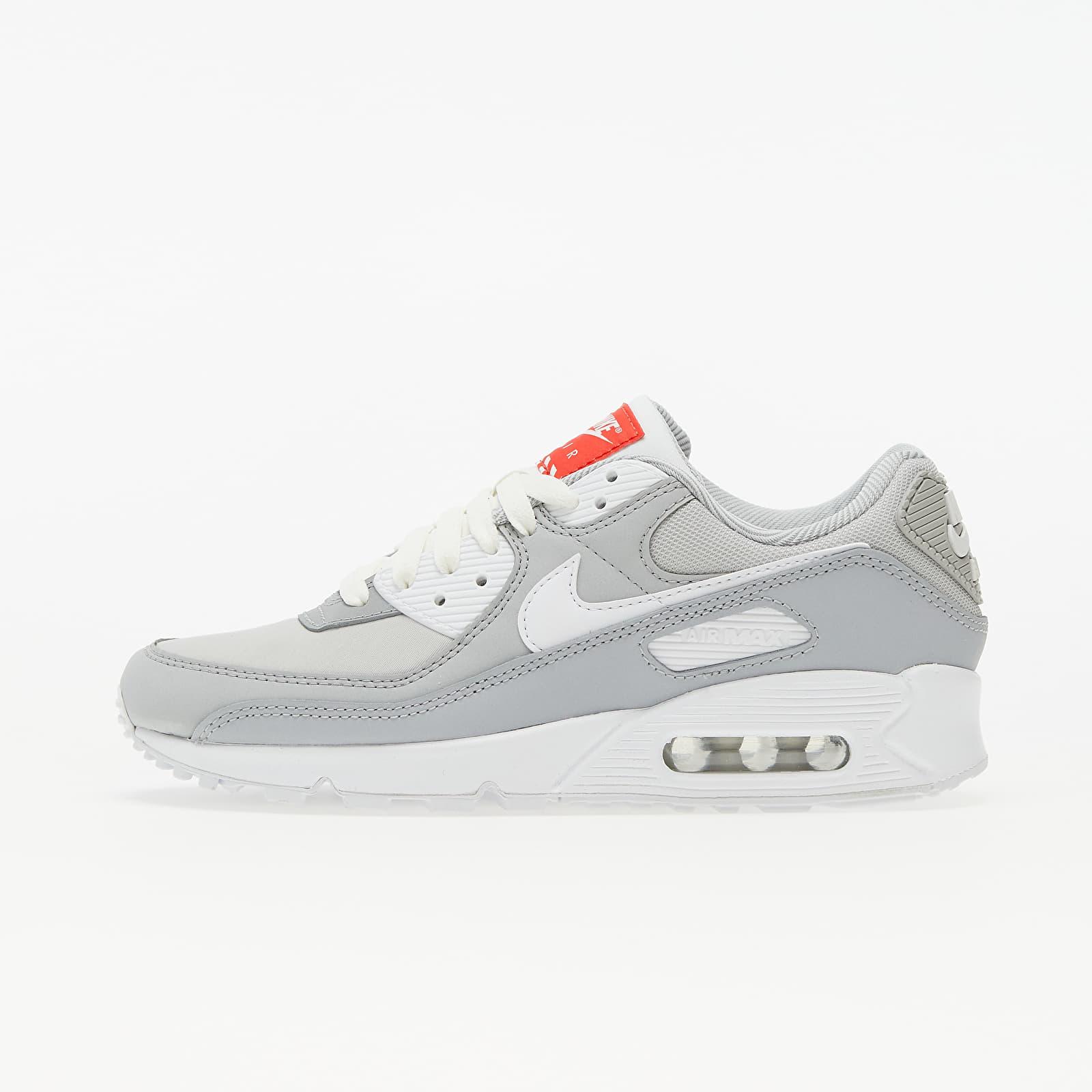 Nike W Air Max 90 Lt Smoke Grey/ White-Summit White DJ1494-001
