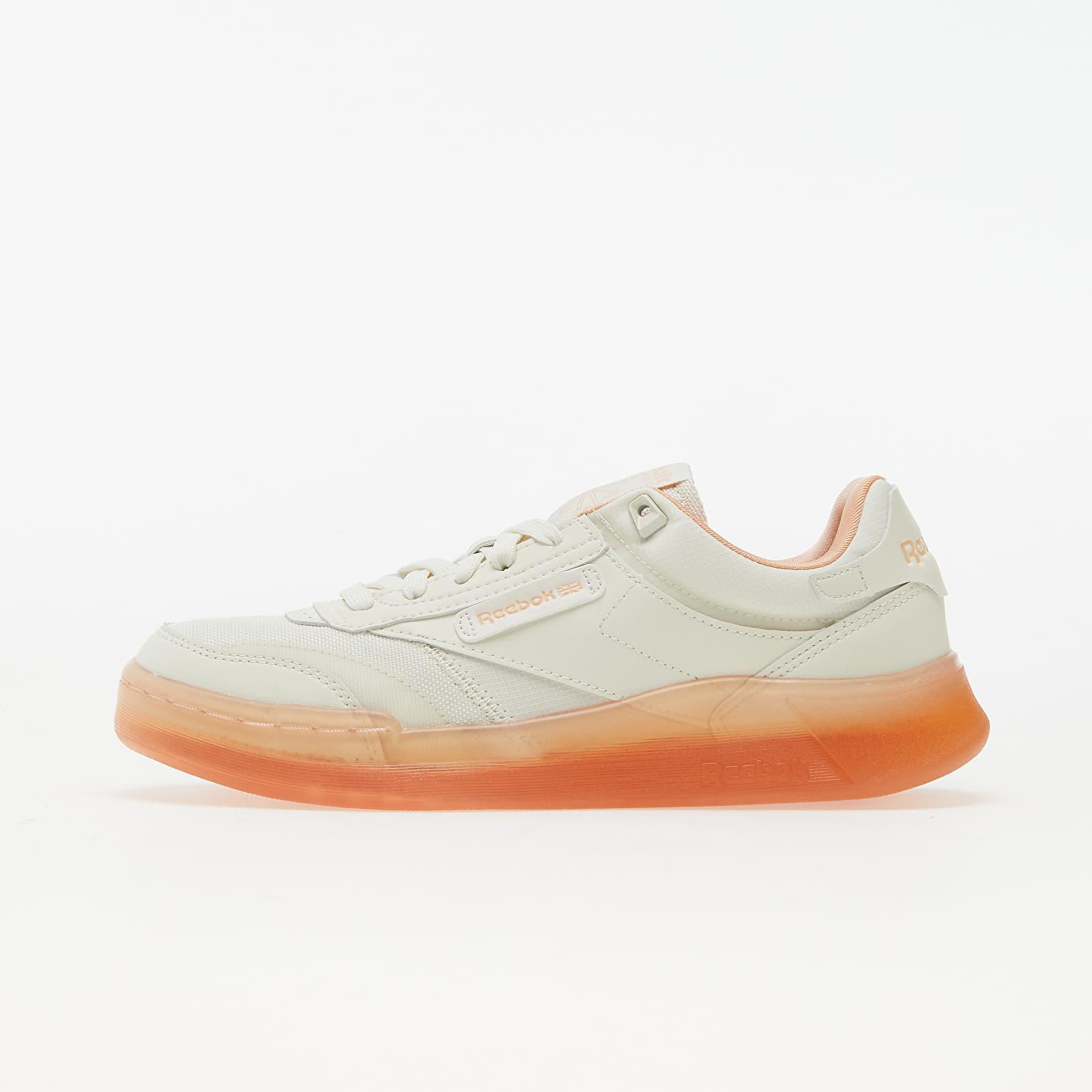 Reebok Club C Legacy Chalk/ Aurora Orange/ Twist Coral H68008