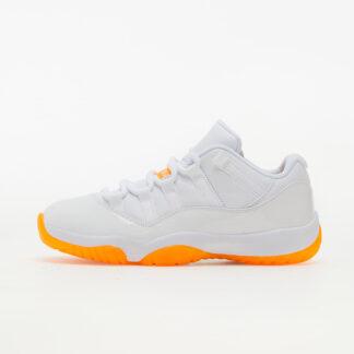 Air Jordan Wmns 11 Retro Low White/ Bright Citrus AH7860-139