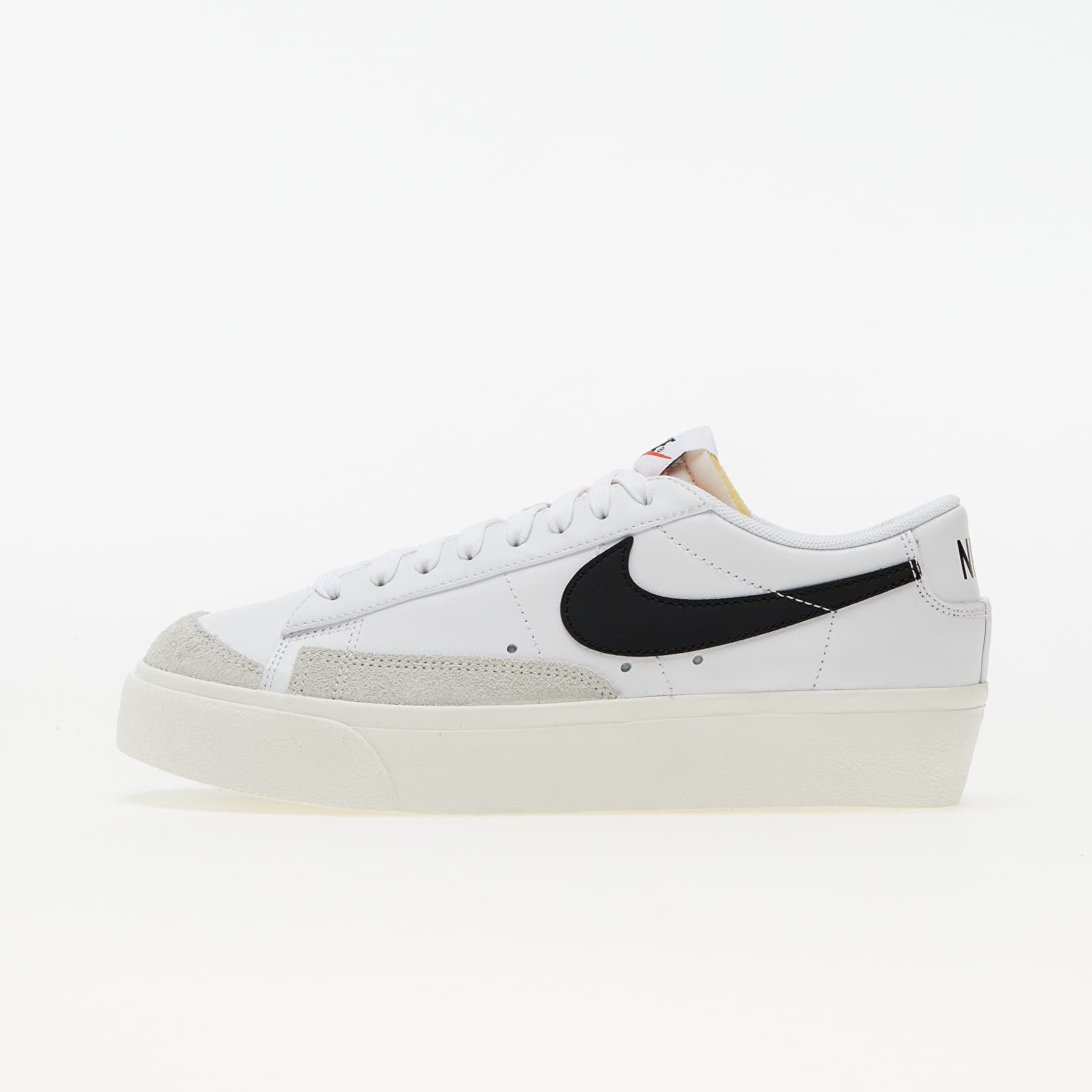 Nike W Blazer Low Platform White/ Black-Sail-Team Orange DJ0292-101