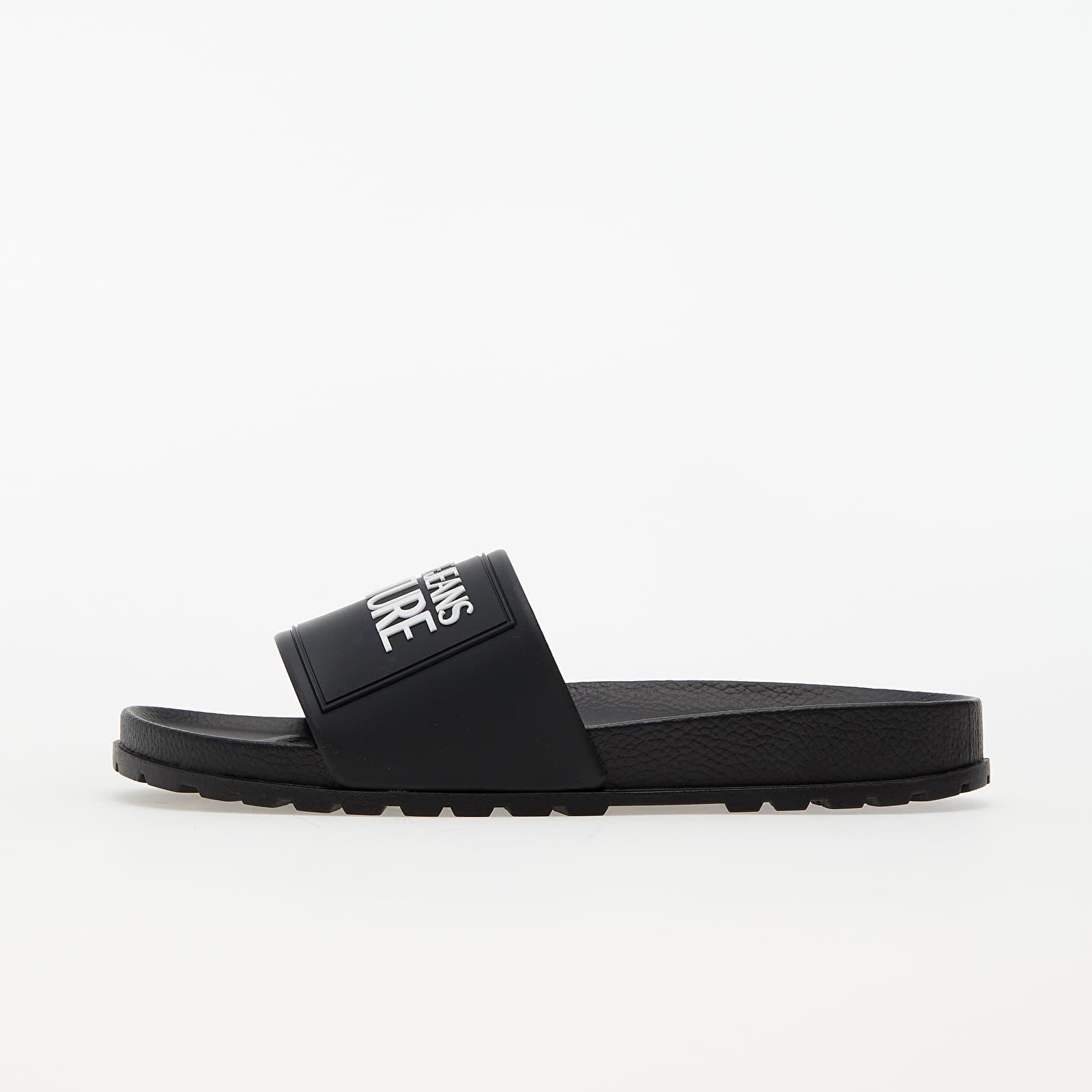 Versace Jeans Couture Linea Fondo Slides Black 11 E0VWASQ271353899