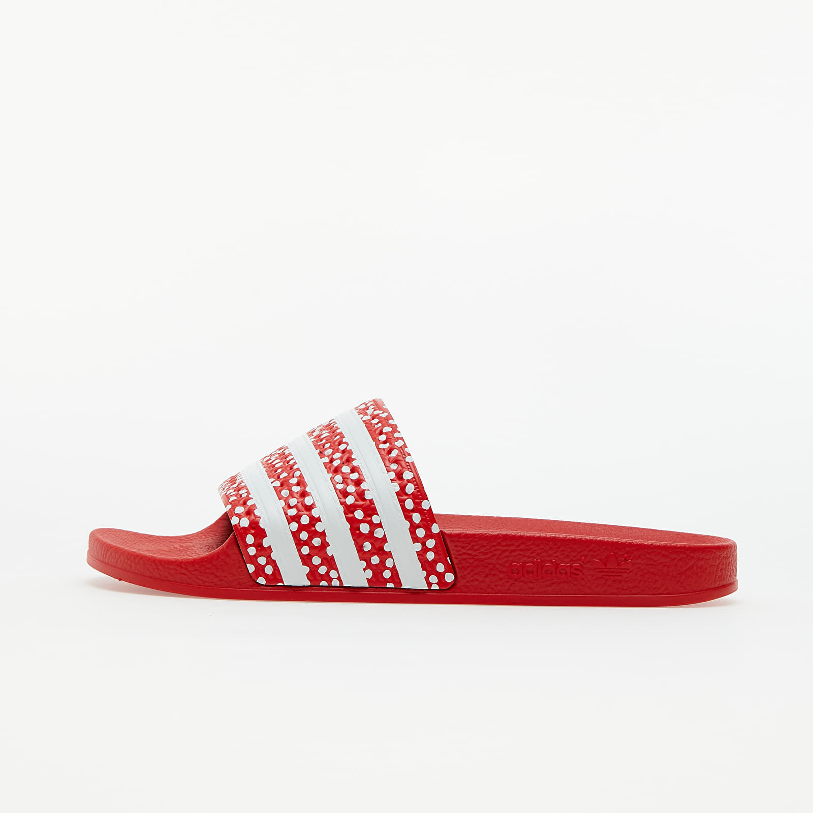 adidas Adilette W Ftw White/ Vivid Red/ Ftw White FX5921