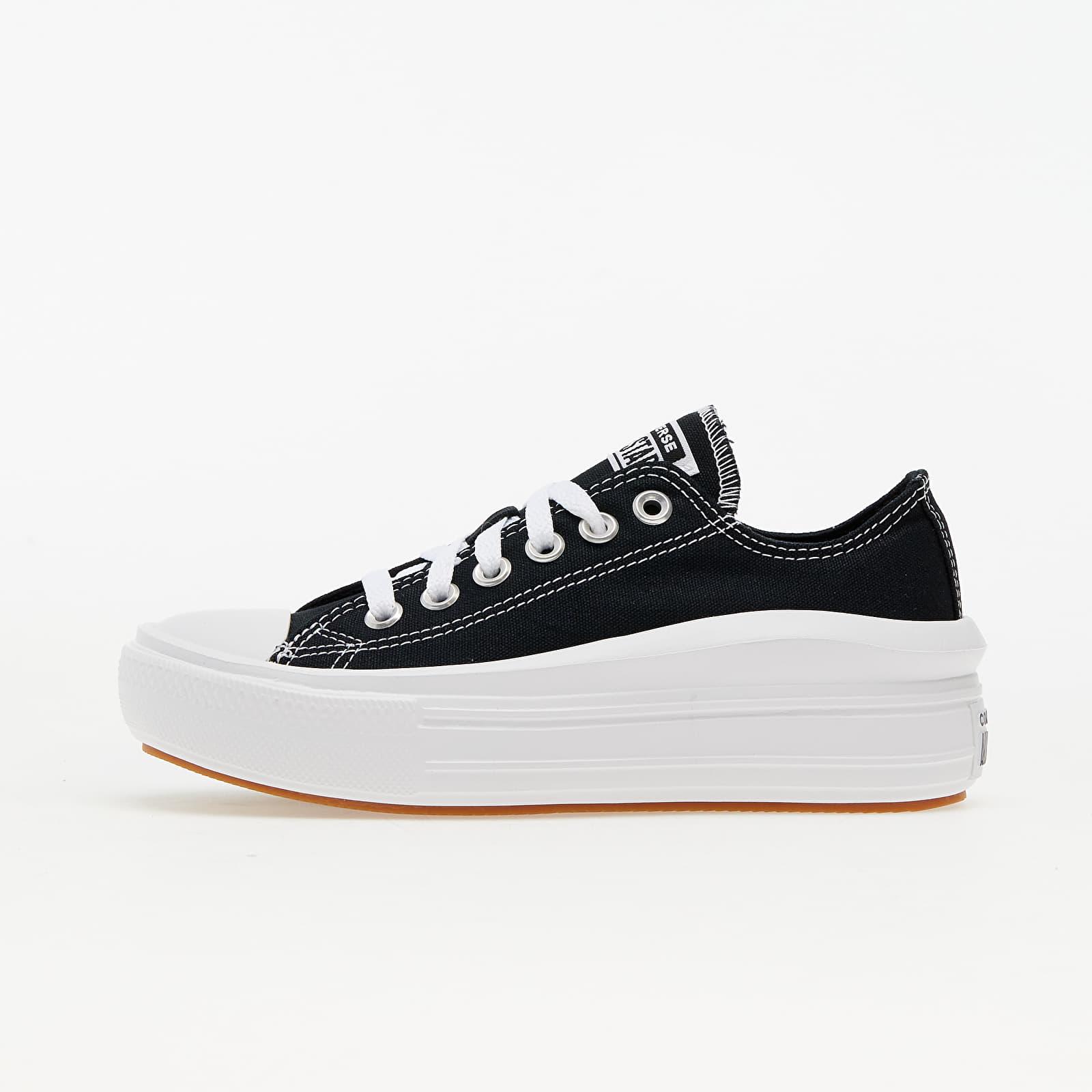 Converse Chuck Taylor All Star Move OX Black/ White/ White 570256C