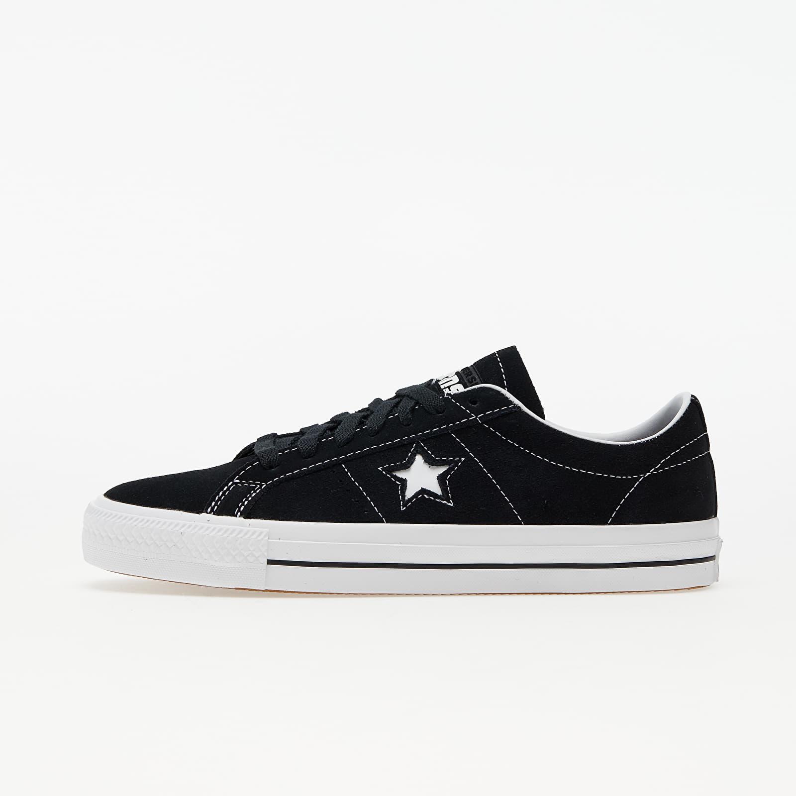 Converse One Star Pro (Refinement) Black/ White/ White 159579C