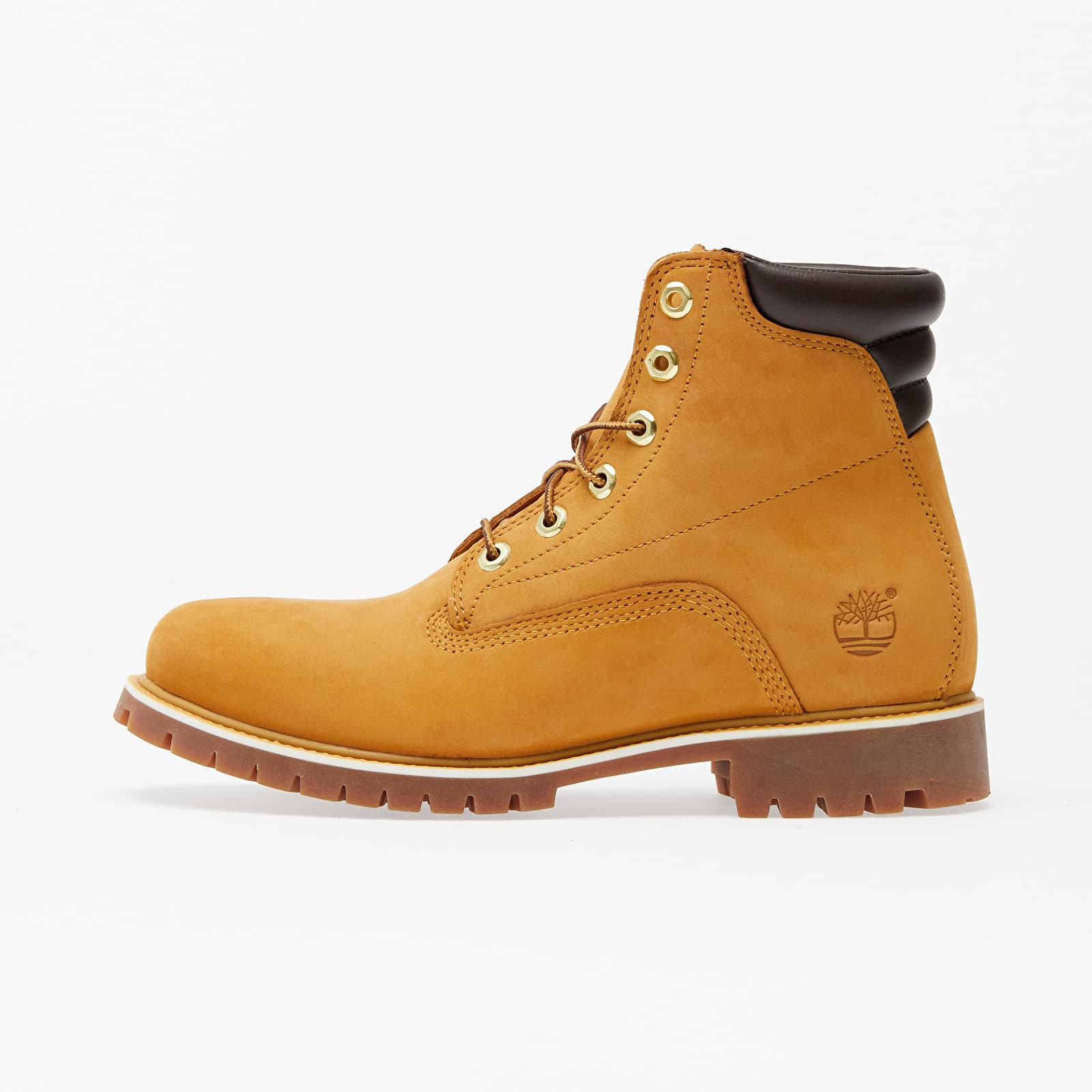 Timberland Alburn 6In Waterproof Boot Wheat Nubuck TB037578231