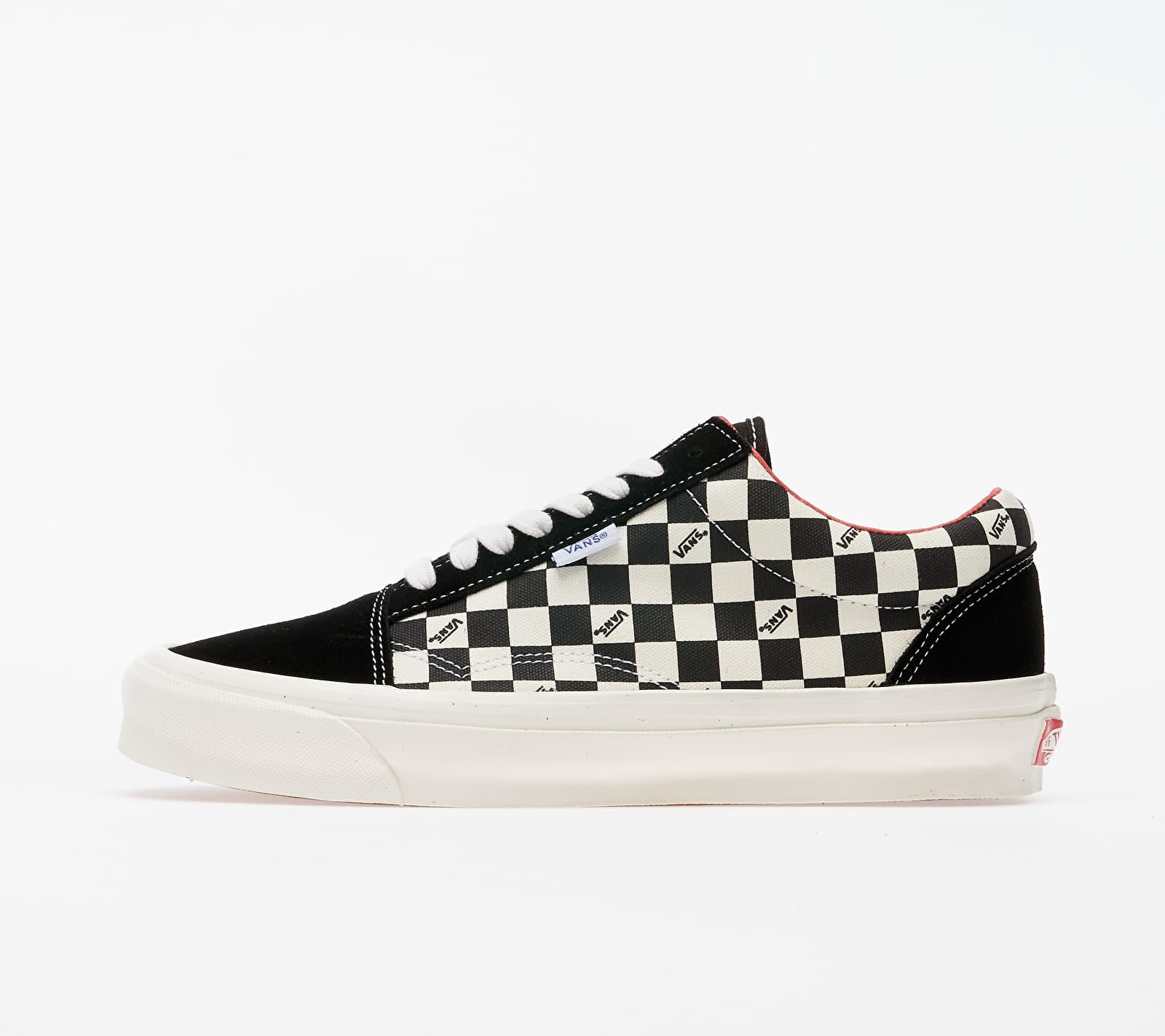 Vans Vault Old Skool NS OG LX (Suede/ Canvas) Checkerboard VN0A4UUT20Y1