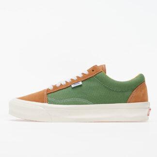 Vans Vault Old Skool NS OG LX (Suede/ Canvas) Brown/ Green VN0A4UUT20X1