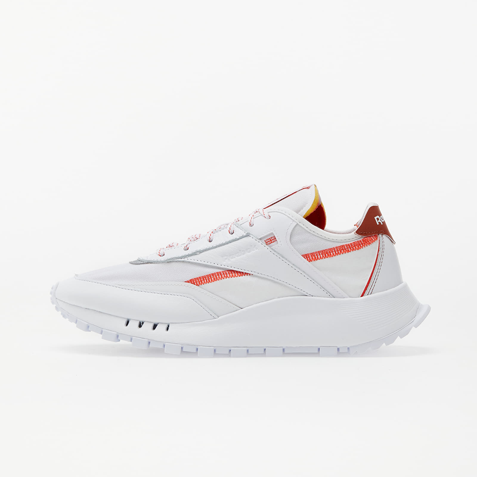 Reebok Classic Legacy Pure White/ Dynamic Red/ Baked Earth FZ2919