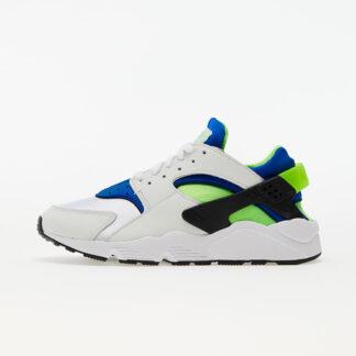 Nike Air Huarache White/ Scream Green-Royal Blue-Black DD1068-100