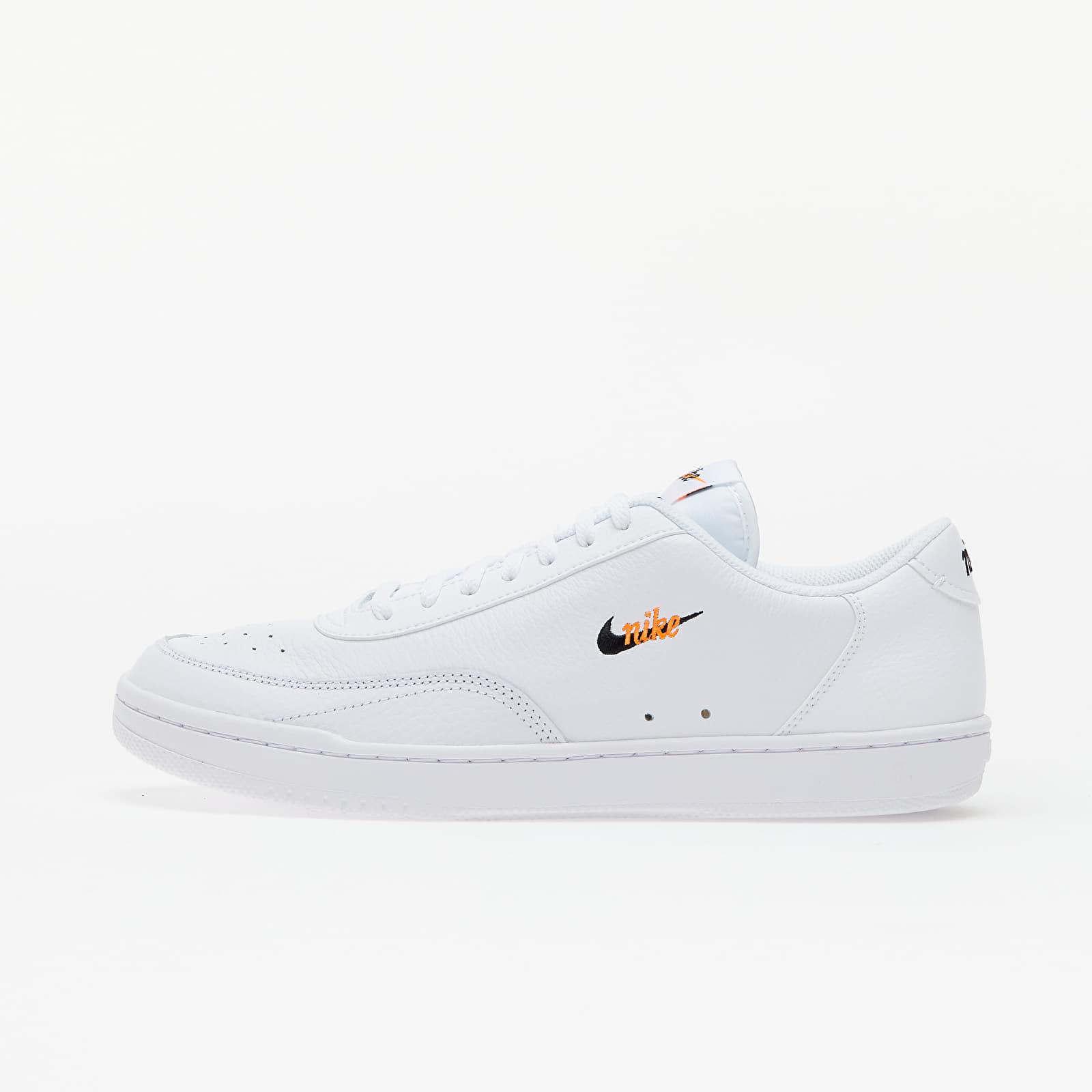 Nike Court Vintage Premium White/ Black-Total Orange CT1726-100