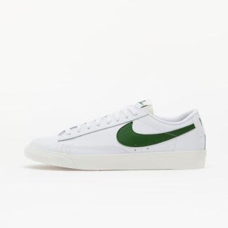 Nike Blazer Low Leather White/ Forest Green-Sail CI6377-108