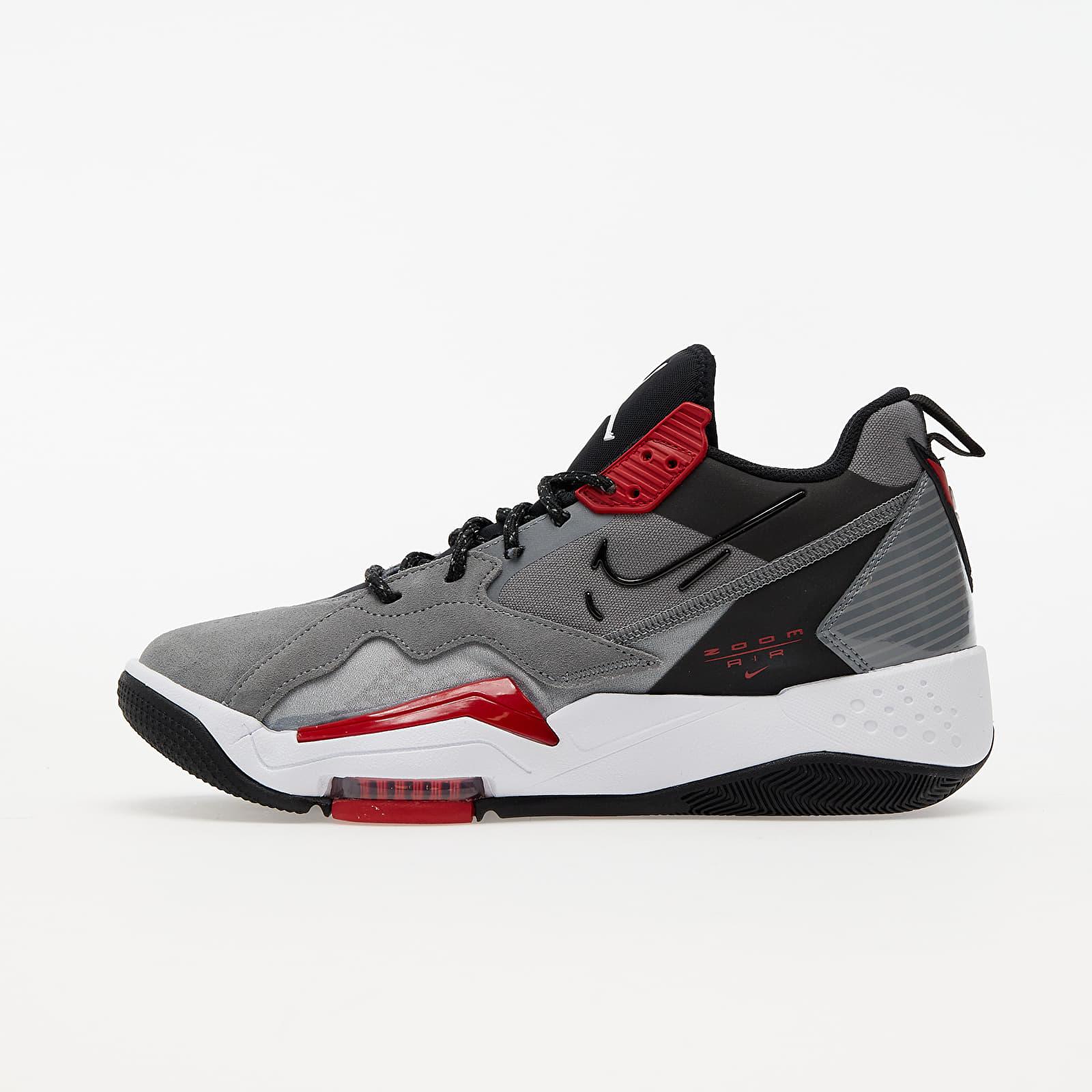 Jordan Zoom '92 Smoke Grey/ Black-Gym Red-White CK9183-006