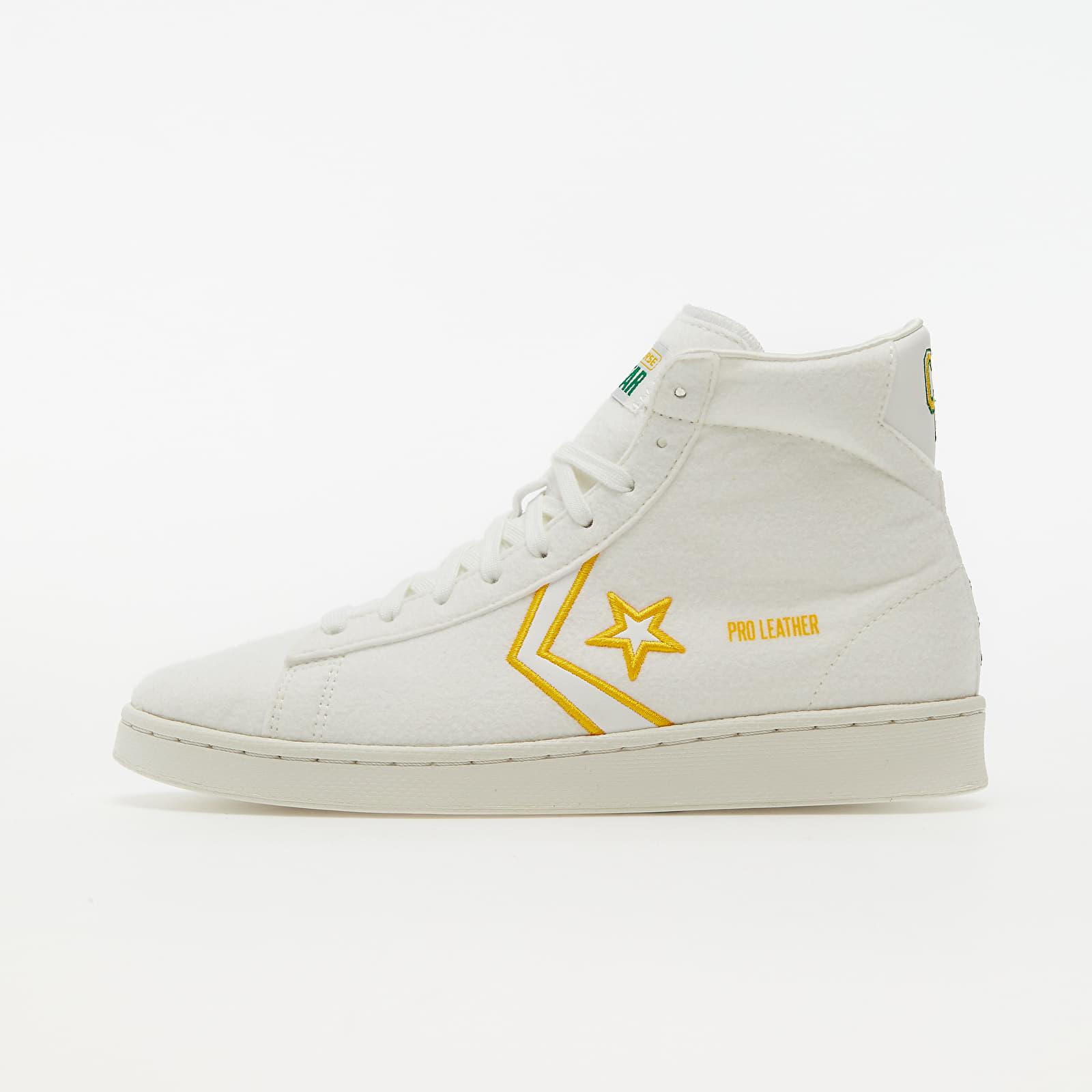 Converse Pro Leather Vintage White/ Green/ Amarillo 170493C