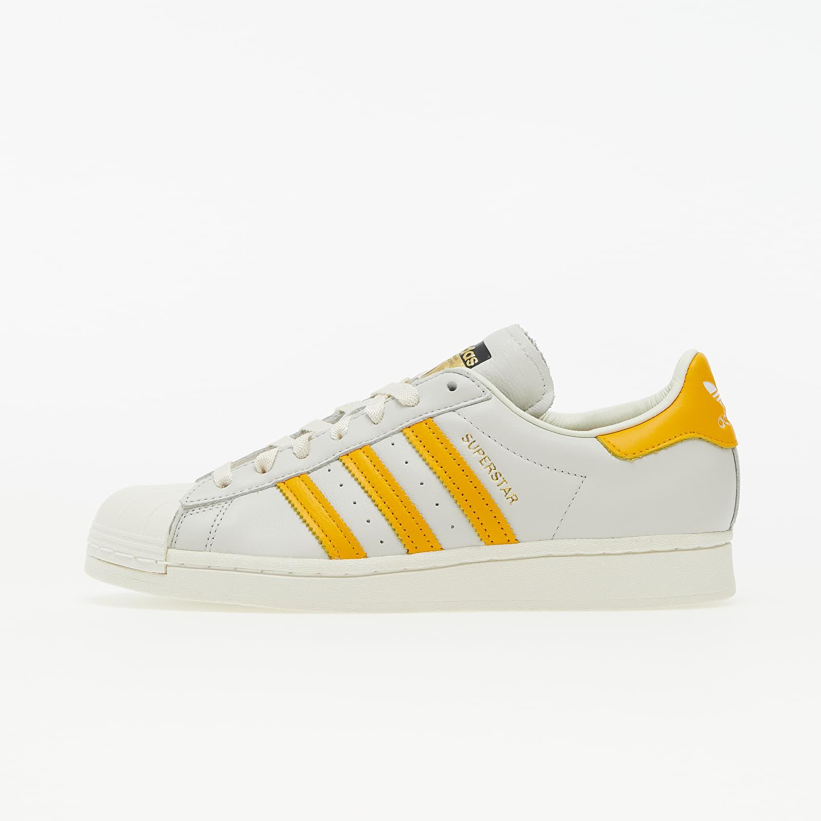 adidas Superstar Off White/ Collegiate Gold/ Off White H68170