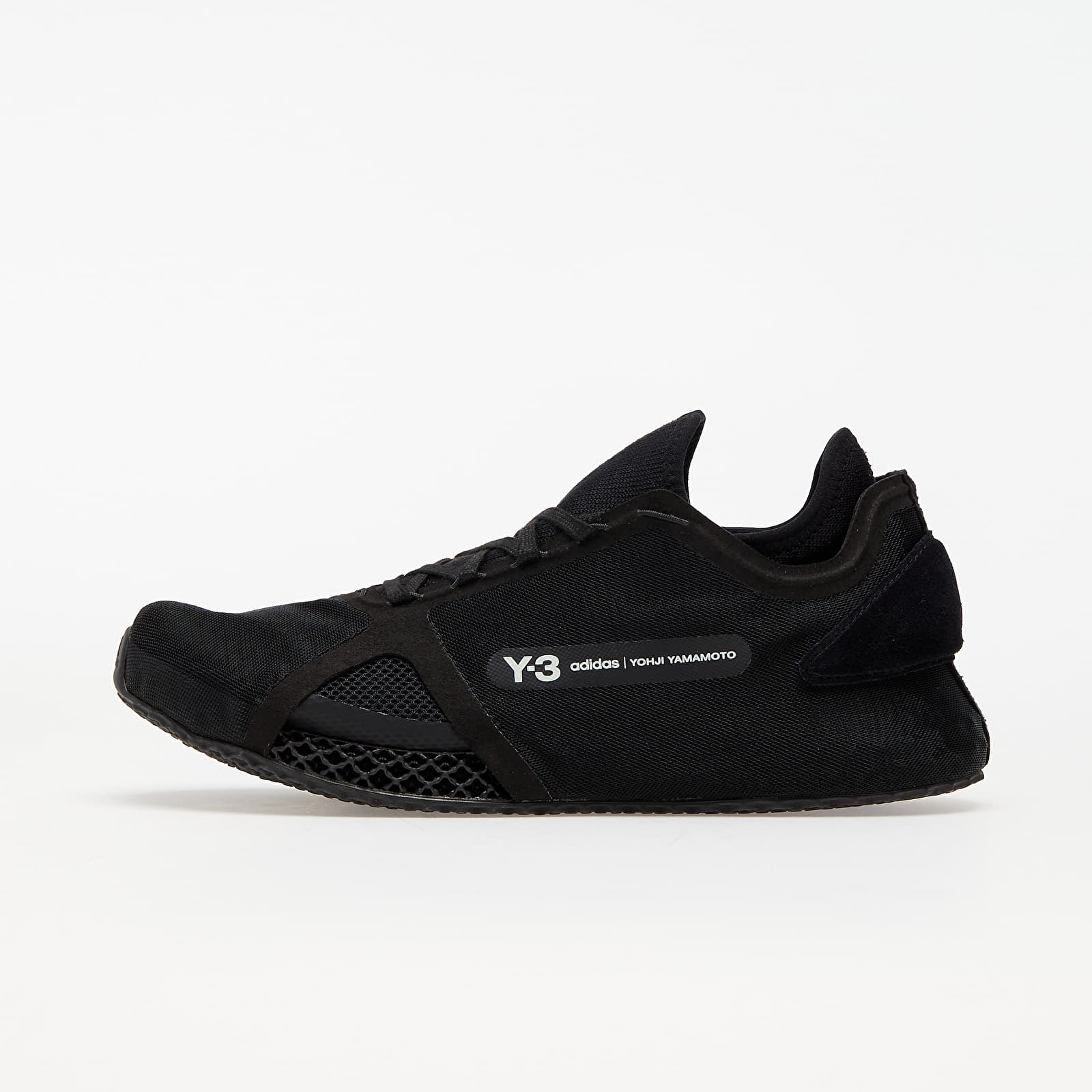 Y-3 Runner 4D Io Black/ Black/ Core White FZ4502