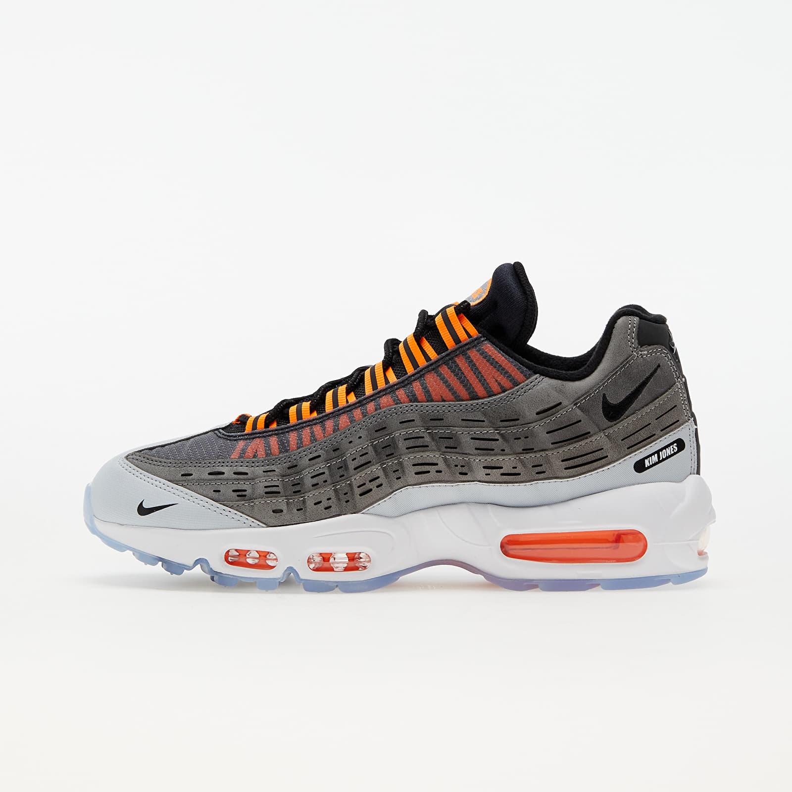 Nike x Kim Jones Air Max 95 Black/ Total Orange-Dark Grey-Cool Grey DD1871-001