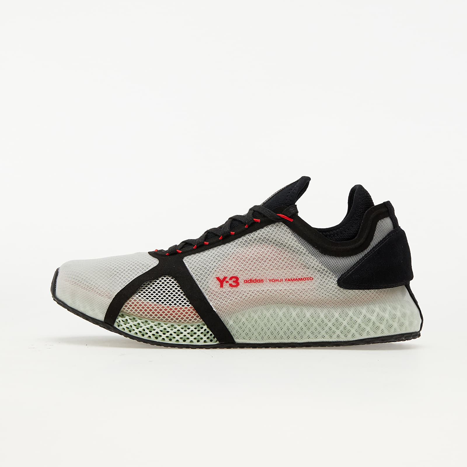 Y-3 Runner 4D Iow Clear Brown/ Black/ Red FZ4501