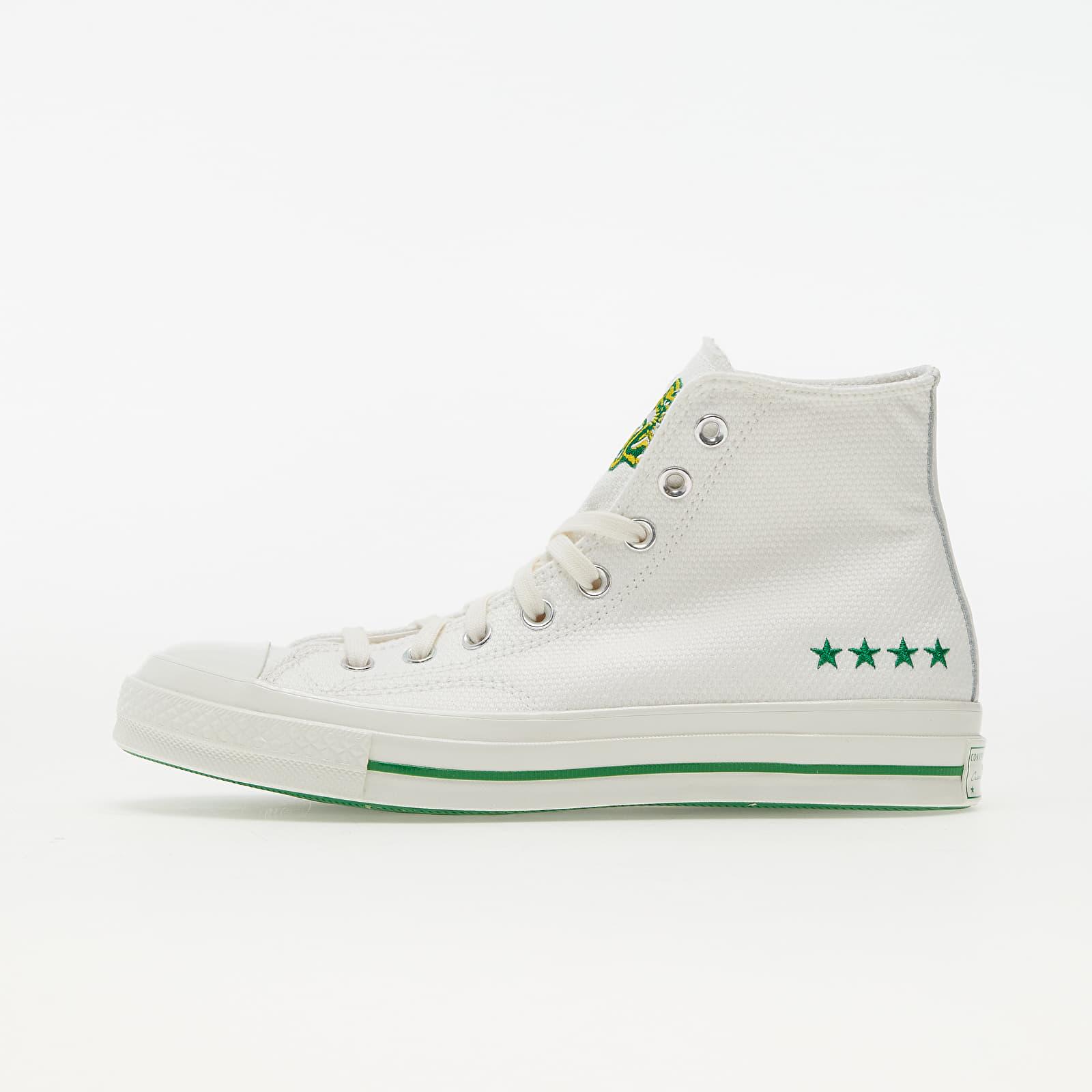 Converse Chuck 70 Vintage White/ Green/ Amarillo 170153C