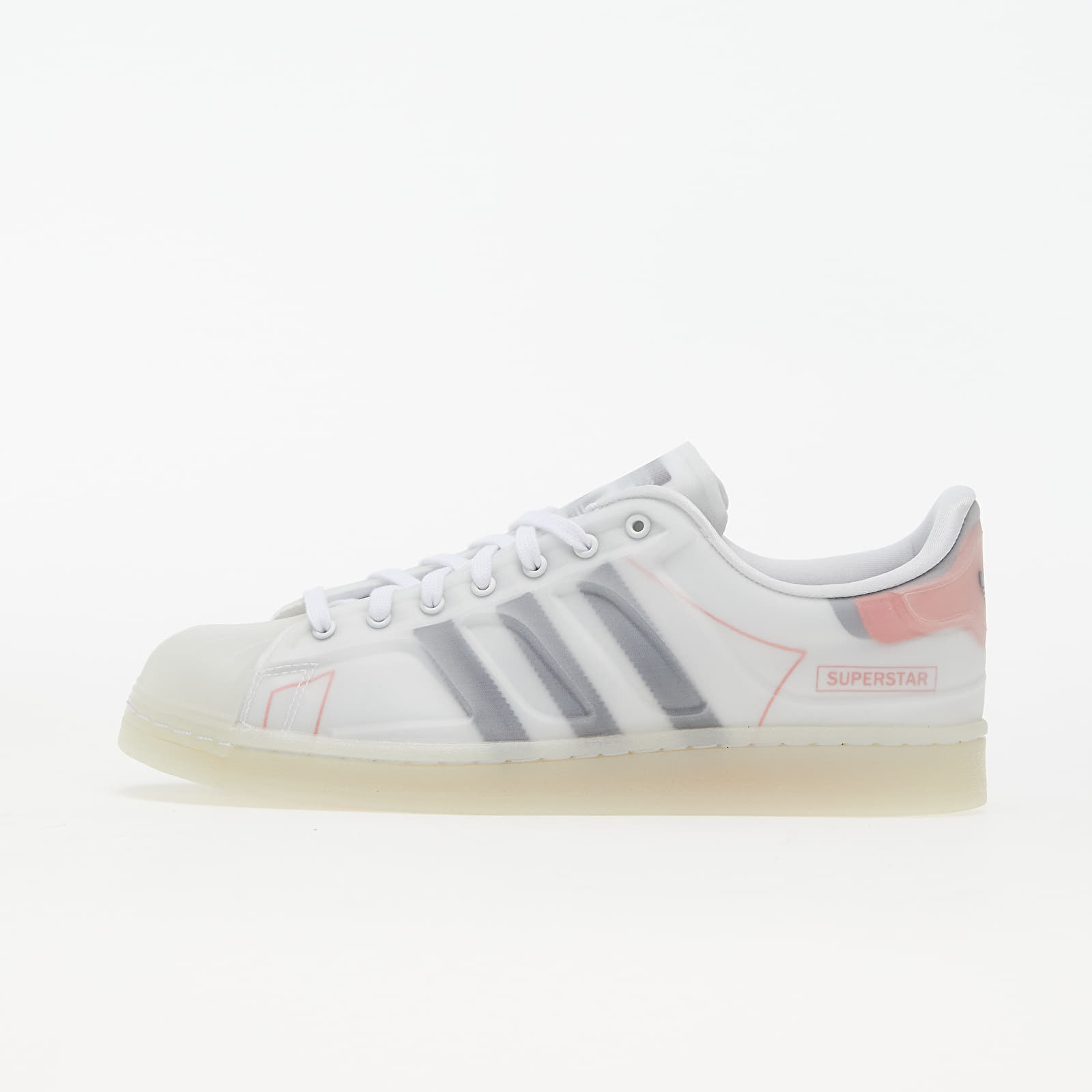 adidas Superstar Futureshell Ftw White/ Core Black/ Semi Solar Red FX5553