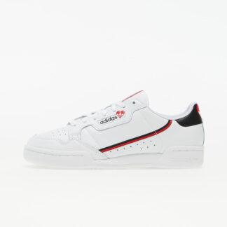 adidas Continental 80 Ftw White/ Core Black/ Scarlet FZ1818