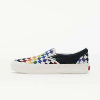 Vans Vault Classic Slip-On LX (Pride) Woven Leather/ Rainbow/ Marshmallo VN0A3QXY5A81