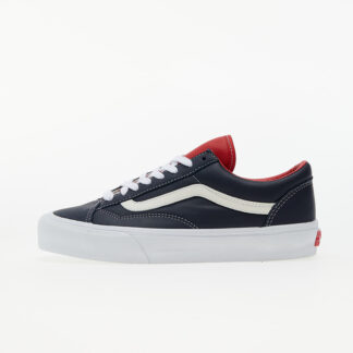 Vans Vault Style 36 LX (Leather) Parisian Night / Racing Red VN0A5FC34Z01