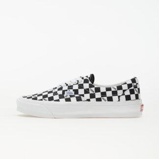 Vans Vault OG Era LX (Canvas) Checkerboard Logo/ Black VN0A3CXN9TB1