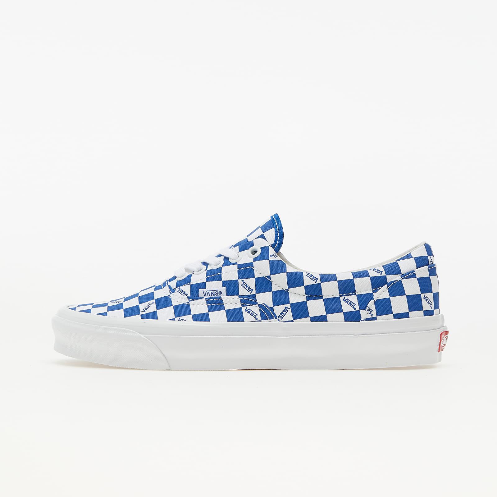 Vans Vault OG Era LX (Canvas) Checkerboard Logo/ Night Blue VN0A3CXN9U91