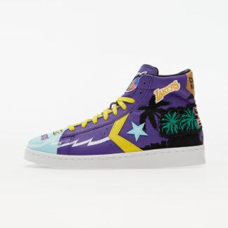 Converse x Chinatown Market x NBA Pro Leather Prism Violet/ Poolside 171240C