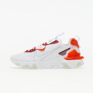 Nike React Vision White/ Lt Smoke Grey-Team Orange-Team Red DM2828-100
