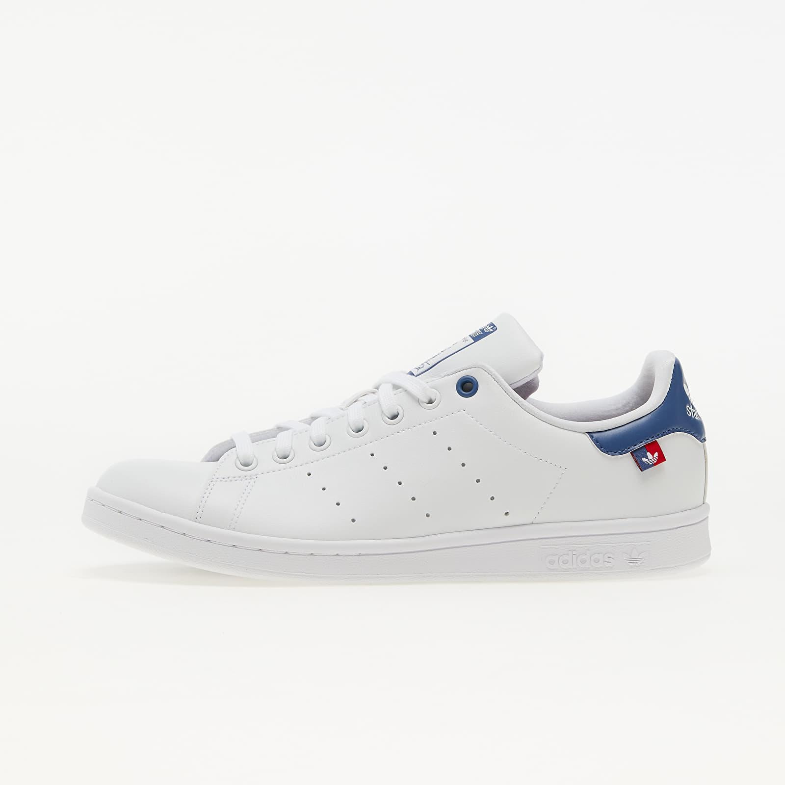 adidas Stan Smith Ftw White/ Scarlet/ Core Blue FX5548