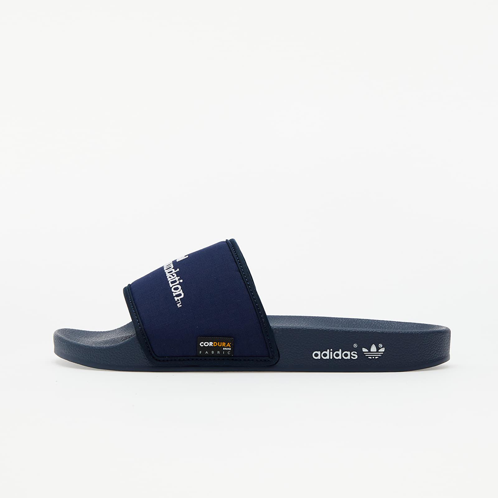 adidas Adilette Collegiate Navy/ Ftwr White/ Collegiate Navy FY5174