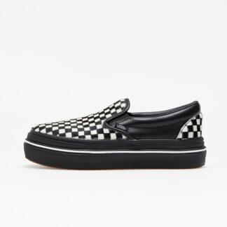 Vans Super ComfyCush Slip-On (Fury) Black/ White VN0A4U1F50A1