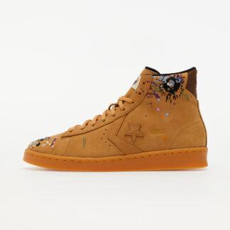 Converse x Bandulu Pro Leather Mid Flux/ Gum Light Honey/ Brown 169908C